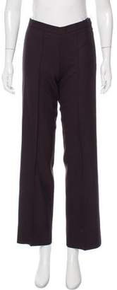 Balenciaga Wool Mid-Rise Pants