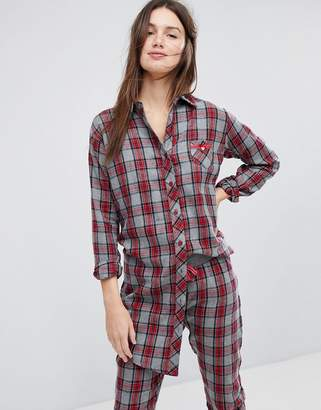 Esprit Checked Night Shirt