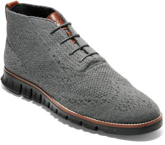 Cole Haan ZeroGrand Stitchlite Knitted Wool Chukka Boot