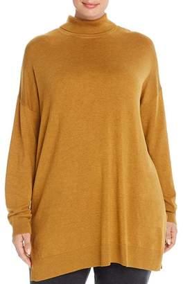 Eileen Fisher Plus Turtleneck Tunic Sweater