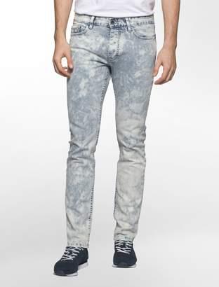 Calvin Klein slim leg purple dusk jeans