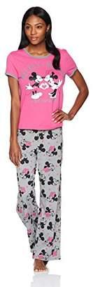 Disney Women's Mouse 2-Piece Pajamas Set