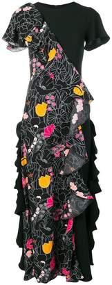 DAY Birger et Mikkelsen Vivetta short-sleeve ruffle dress