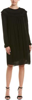 Velvet by Graham & Spencer Brina Crinkle Gauze Shift Dress