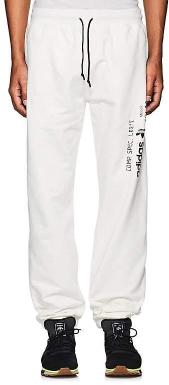 adidas Originals by Alexander Wang Men's Logo Cotton Fleece Jogger Pants