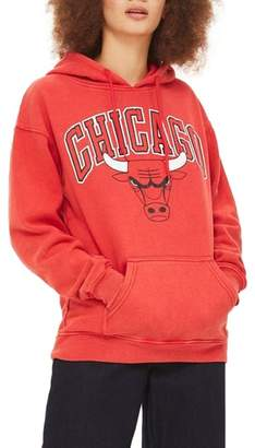 Topshop by x UNX Chicago Bulls Hoodie