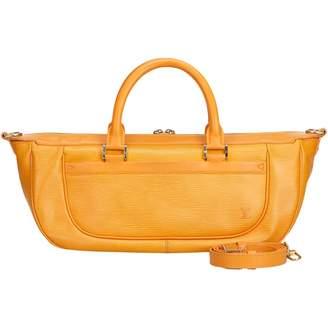 Louis Vuitton Vintage Dhanura Orange Leather Handbag