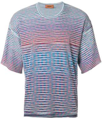 Missoni wave stripe T-shirt