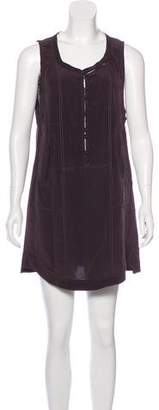 Isabel Marant Silk Sleeveless Shift Dress
