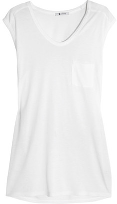 T by Alexander Wang - Muscle Jersey T-shirt - White $80 thestylecure.com