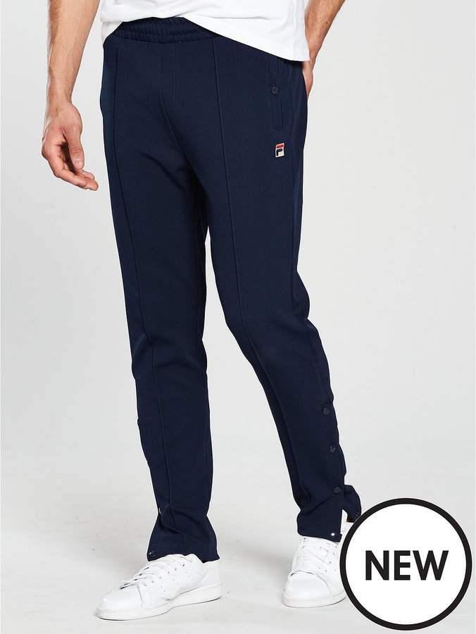 White Line Molveno Half Popper Slim Track Pants