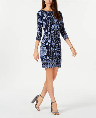 Charter Club Reversible Shift Dress, Created for Macy's