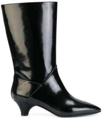 Marni mid-calf sheen boots