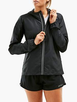 2XU XVENT Women's Running Jacket, Black