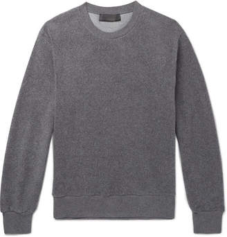 Stella McCartney Ian Textured Cotton-Blend Sweatshirt