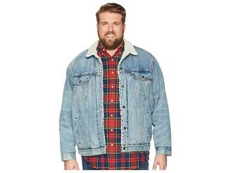 Levi's Big & Tall Big Tall Type III Sherpa Trucker Jacket