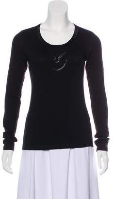 Gianfranco Ferre Graphic Long Sleeve Top