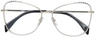 Moschino square glasses