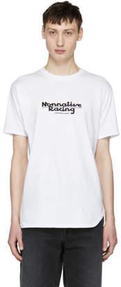 Nonnative White Racing Logo T-Shirt