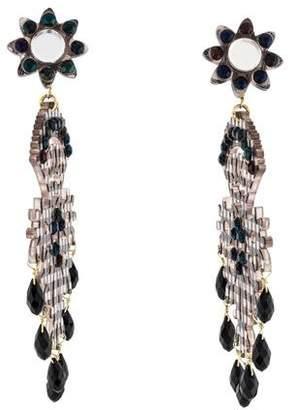 Mercedes Salazar Gingham Fiesta Earrings