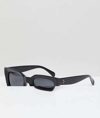 A. J. Morgan Aj Morgan Square Sunglasses In Black
