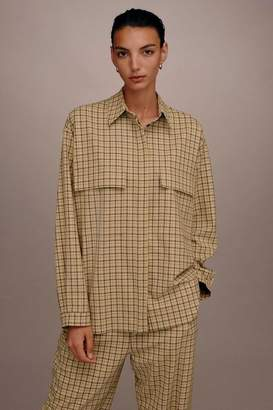 Topshop **Check Pocket Shirt by Boutique