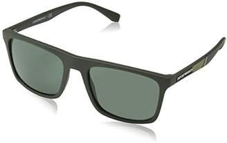 Emporio Armani Unisex's 0ea4097 Sunglasses