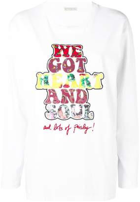 Etro We Got Heart And Soul T-shirt