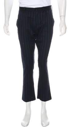 Ann Demeulemeester Cropped Flat Front Pants