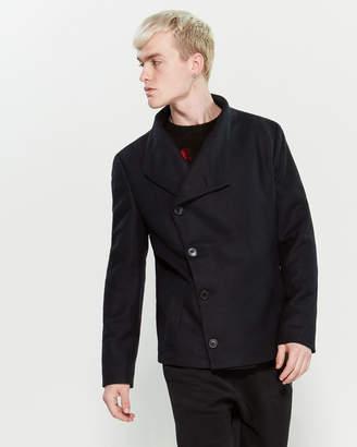 Religion Navy Nether Coat