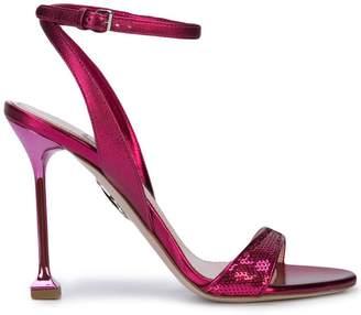 Miu Miu sequin strap sandals