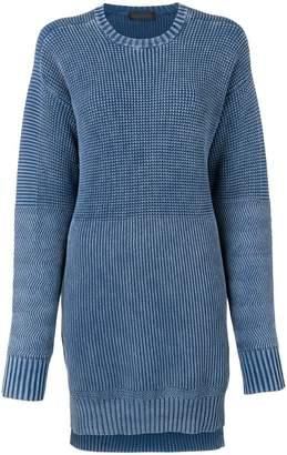 Diesel Black Gold knitted short dress