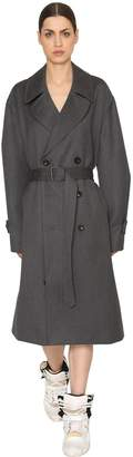 Maison Margiela Wool Cloth Trench Coat