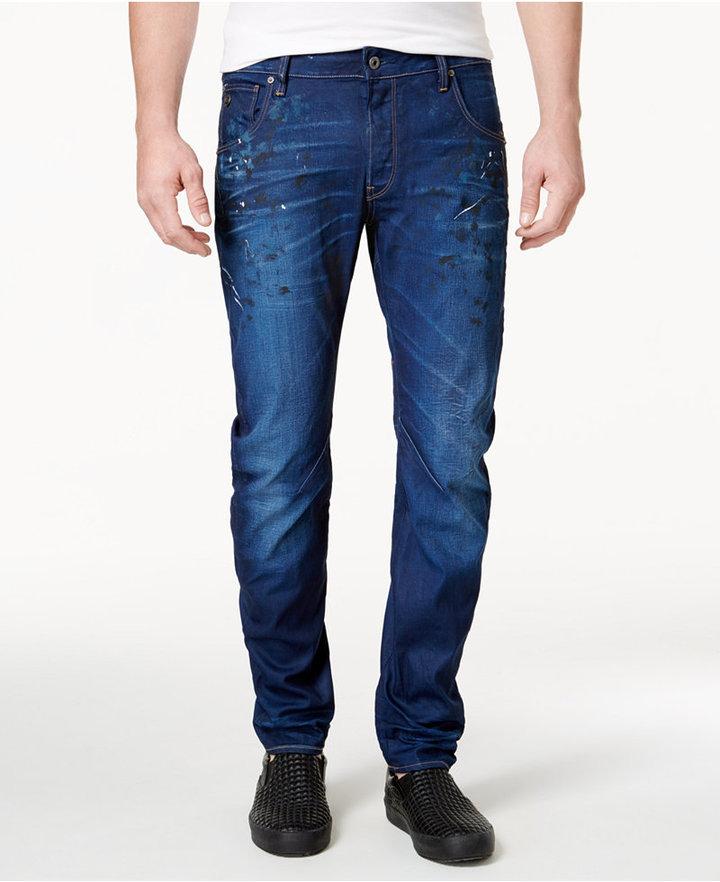 G StarG-Star RAW Men's Slim-Fit Arc 3D Jeans
