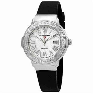 Swiss Legend Women's 20032DSM-02 South Beach Analog Display Swiss Quartz Black Watch