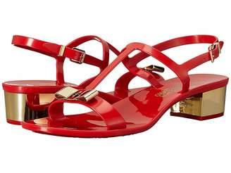 Salvatore Ferragamo PVC Thong with Heel
