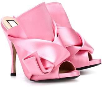 N°21 Ronny 110 satin sandals