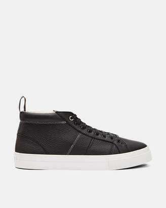 Ted Baker PERILL Leather hi-top trainers