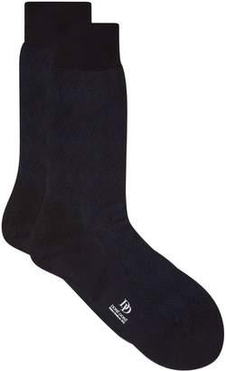Dore Dore Cotton Diamond Socks