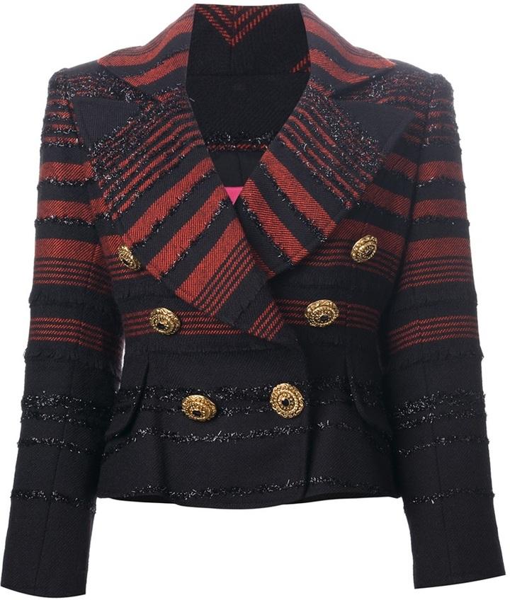 Christian Lacroix Vintage buttoned jacket