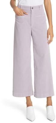A.L.C. Jay Crop Wide Leg Corduroy Pants