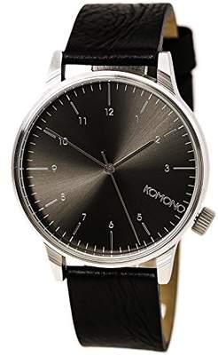 Komono Unisex KOM-W2255 Winston Regal Series Analog Display Japanese Quartz Watch