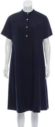 Steven Alan Silk Midi Dress