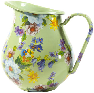 Mackenzie Childs Flower Market Enamel Pitcher