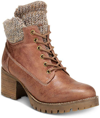 Carlos by Carlos Santana Glynn Lace-Up Booties Women's Shoes