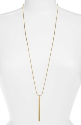 Women's Argento Vivo Stick Pendant Necklace $35 thestylecure.com