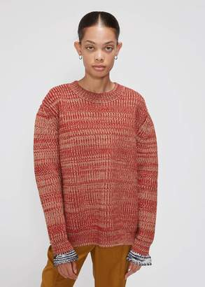 Marni Long Sleeve Crew Neck Sweater