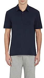 James Perse Men's Jersey Polo Shirt - Navy