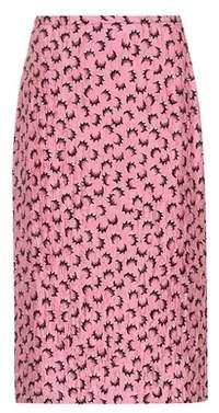 Marni Printed satin skirt