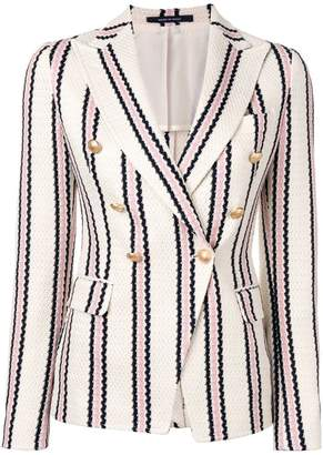 Tagliatore Jalicya striped blazer